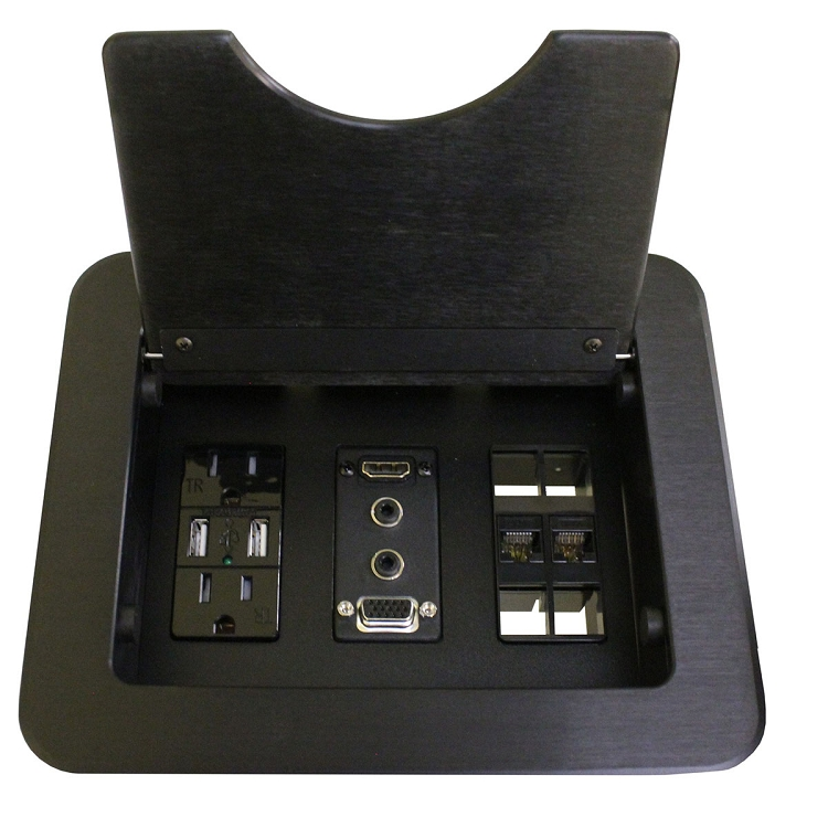 Cnk210 Cable Nook Complete Pre Configured Tabletop