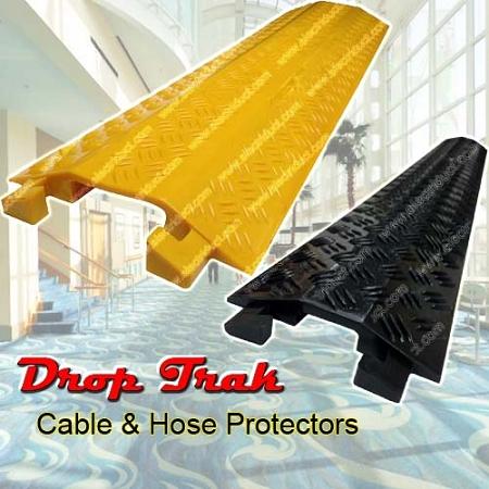 Drop Trak Cable Amp Hose Drop Over Protector Light Duty