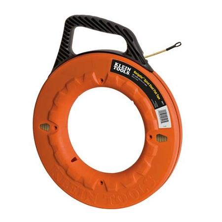 Klein navigator spiral steel fish tape for Steel fish tape