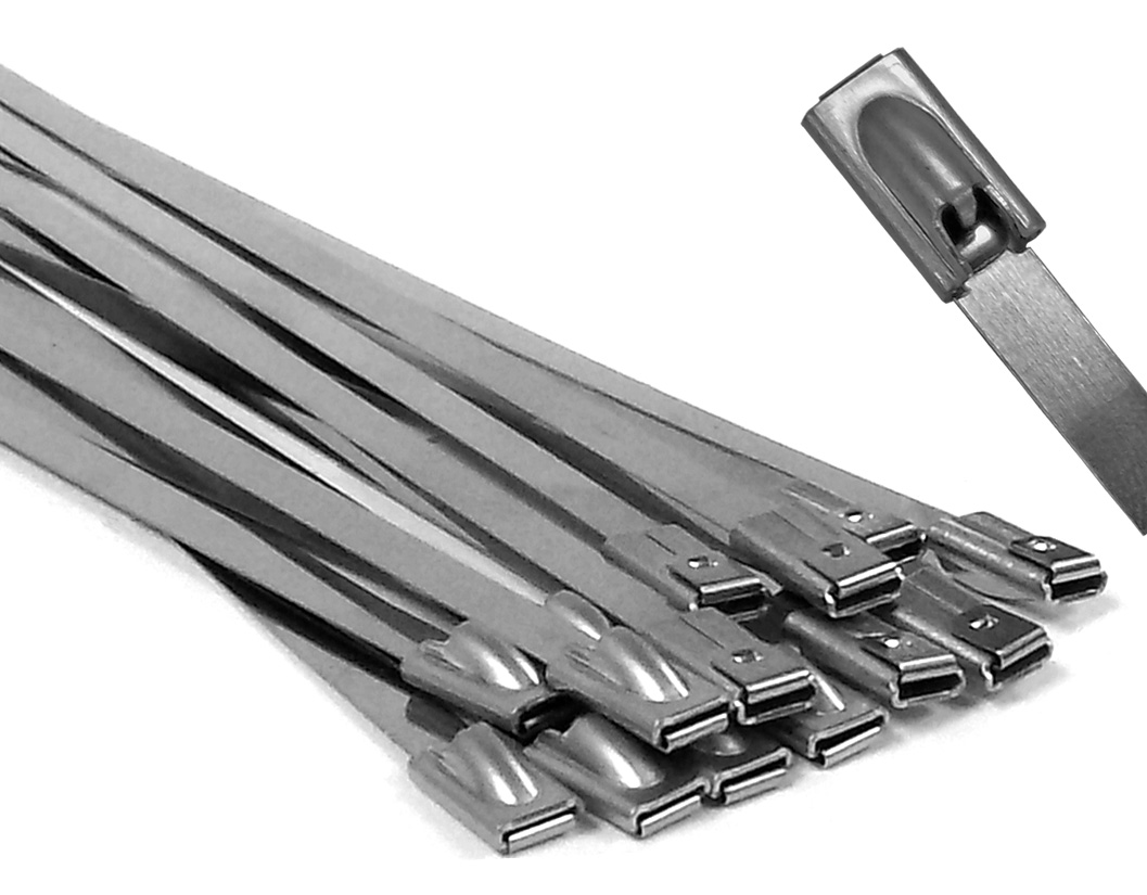Stainless Steel Wire Ties : Stainless steel cable ties metal fasteners electriduct