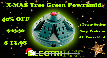 25% OFF X-mas Tree Green Powramid