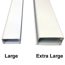 Extra Large Latching Raceways 2100 Series Cable