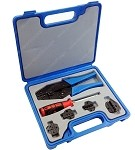 Ratcheting Terminal Crimping Kit with Carrying Case