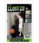 TV Anti-Tip Safety Kit - Hangman Products