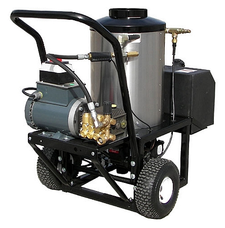 Electric motor direct drive pressure washers hot water for Pressure washer pump electric motor