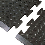 #545 Diamond Top Interlok Floor Mat - NoTrax