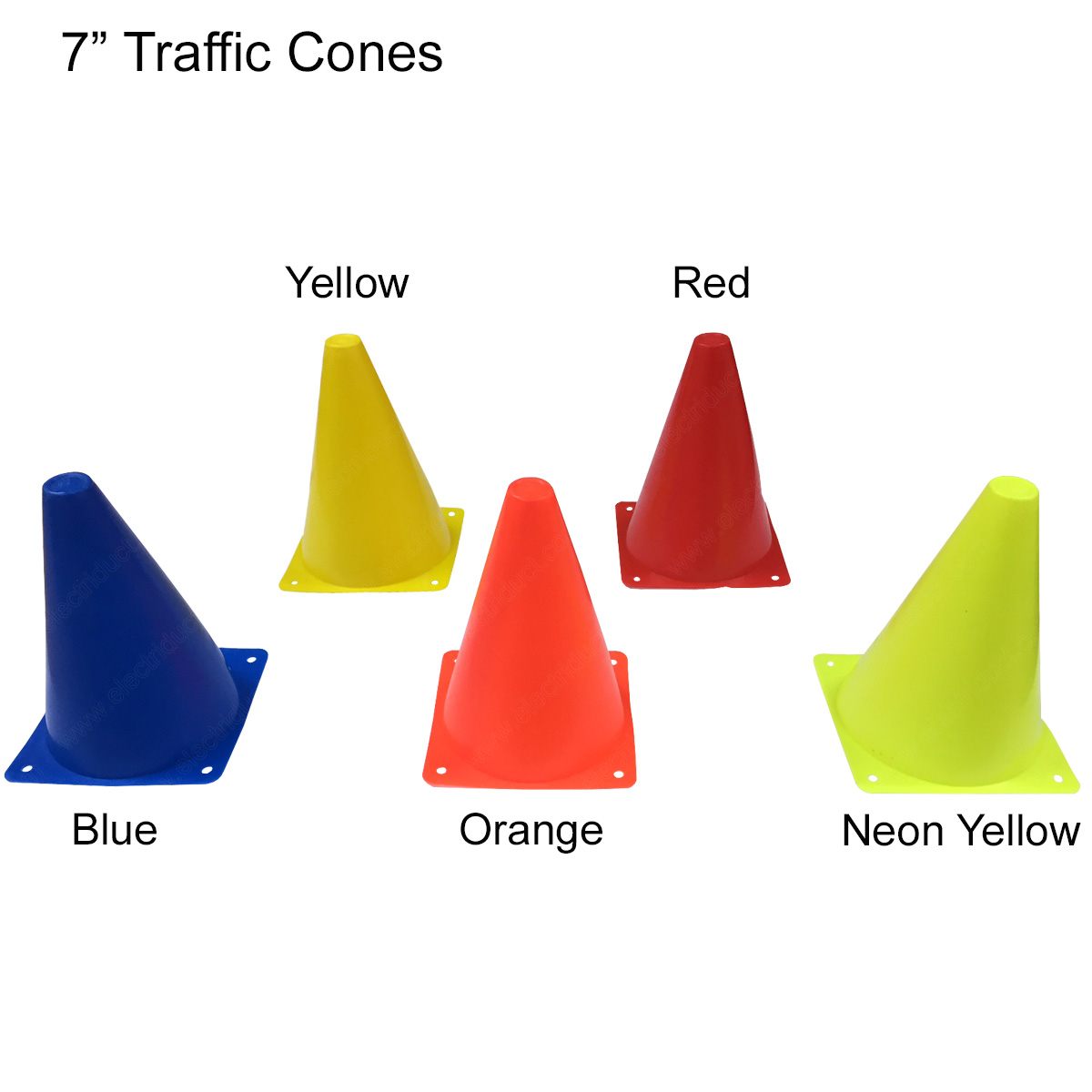 Traffic Safety Cones 7 Quot 18 Quot 28 Quot Reflective Collars
