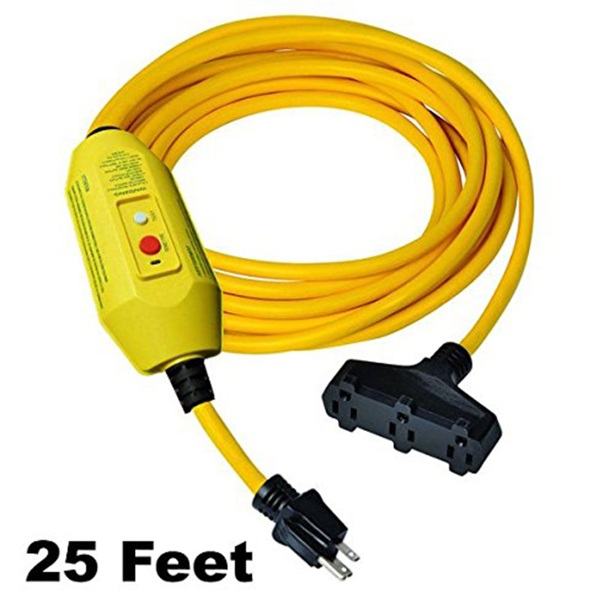 Gfci In Line Portable Adapter Cords Single Outlet