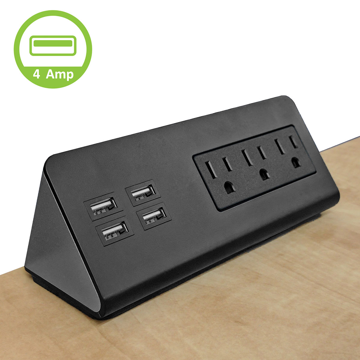 Power Socket Centers Table Top Edge Mount Ac Power