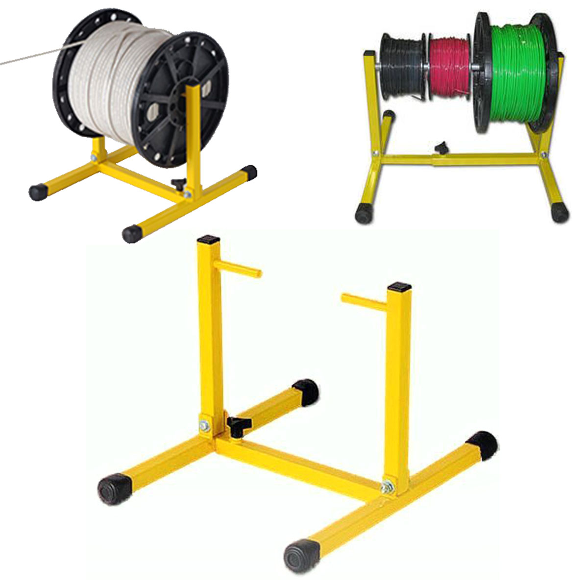 Adjustable Wire Reel Stand Dispenser Portable