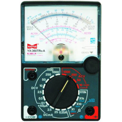 how to read ohm meter
