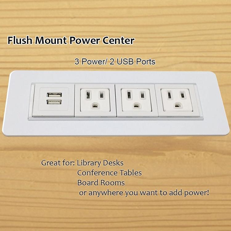Axil Z Flush Mount Power And Data Center