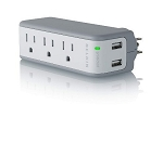 Belkin Mini Surge Protector with Duel USB Charger