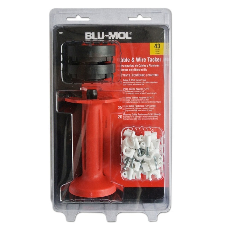 Blu-Mol Cable & Wire Tacker   Fasteners   Disston Tools
