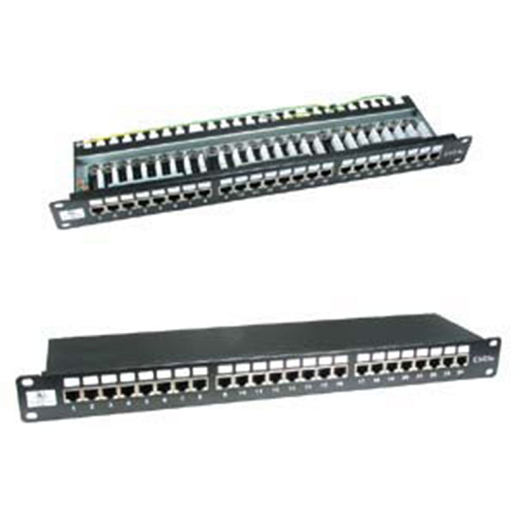 Cat6 110 Type 24 Port Shielded Patch Panel