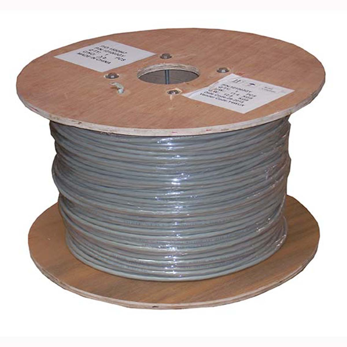 Cat6 Stranded Wire Bulk Double-Shielded Cable