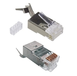 CAT6A STP RJ45 Shielded Modular Plug