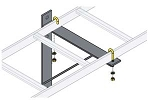 CL Series Cable Ladder Accessories - Middle Atlantic