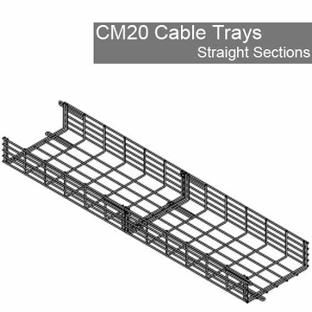 Cm20 Wire Cable Tray System Wire Management