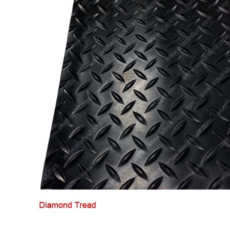 Anti Slip Rubber Safety Floor Mats Diamond Checker