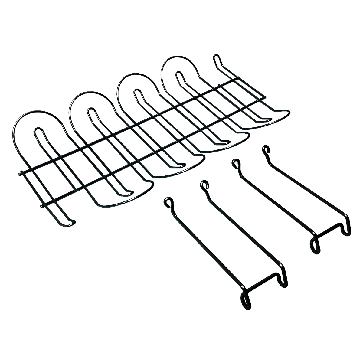 under desk steel cable mesh tray for wire management