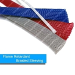 Polyester Flame Retardant Expandable Braided Sleeving