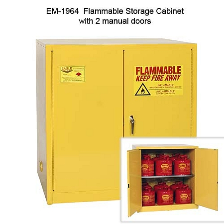 Flammable Storage Safety Cabinets   Eagle