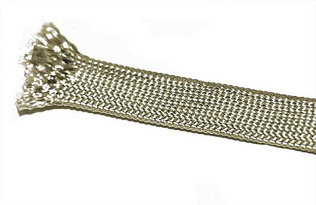 Fray resistant saturated fiberglass sleeving braided for Is fiberglass heat resistant