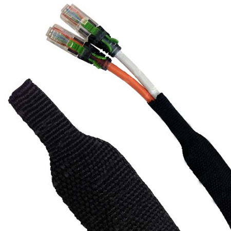 Heat Shrinkable Braided Sleeving | 2:1 Shrink RatioElectriduct.com