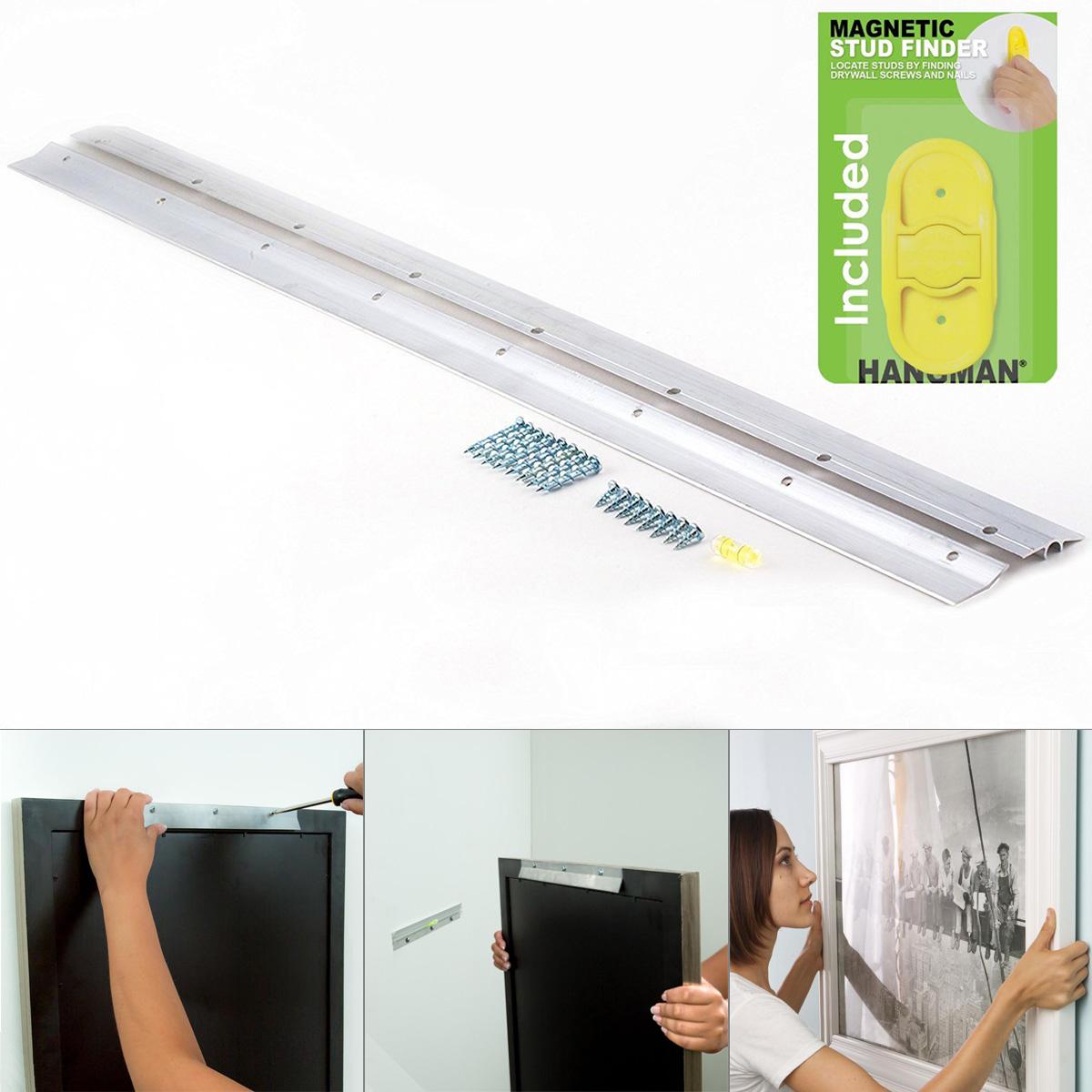 Heavy Duty Mirror Picture Hangers 6 To 42 Models Hangman
