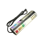 Home Theater Surge Protector Multi-Colored Outlets