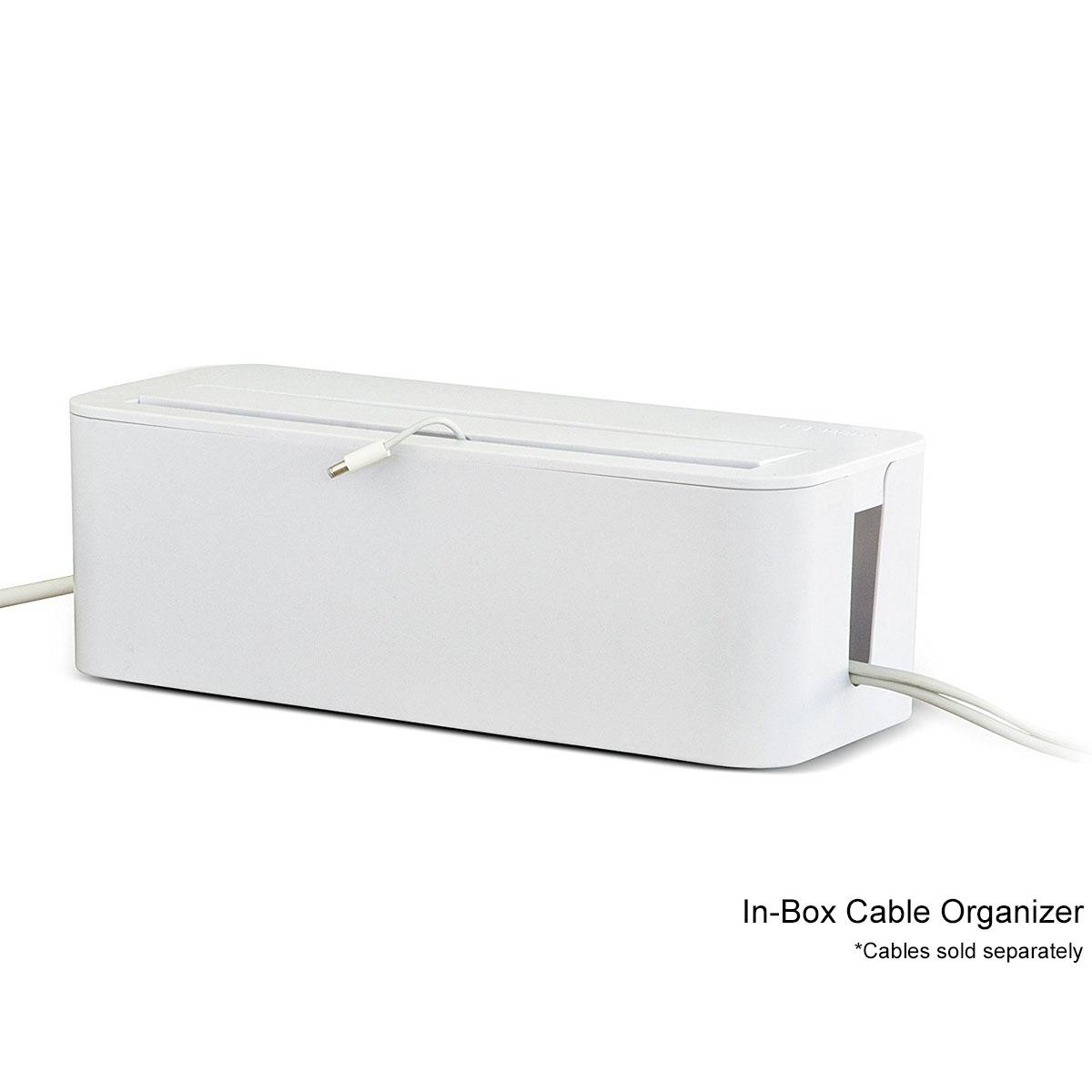 In-Box Under Desk Cable Organizer & In Box Desktop