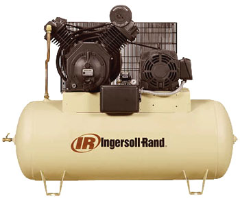 7100 series two stage electric powered stationary air for Ingersoll rand air compressor motor starter
