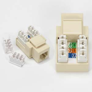 rj11 12 110 type keystone jack connector. Black Bedroom Furniture Sets. Home Design Ideas