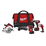 Milwaukee M18 4-Tool Combo Kit