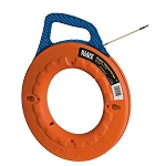 Klein Tools Navigator Fiberglass Fish Tape with 7 inch Leader