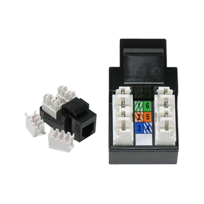 Rj11 12 110 Type Keystone Jack Connector