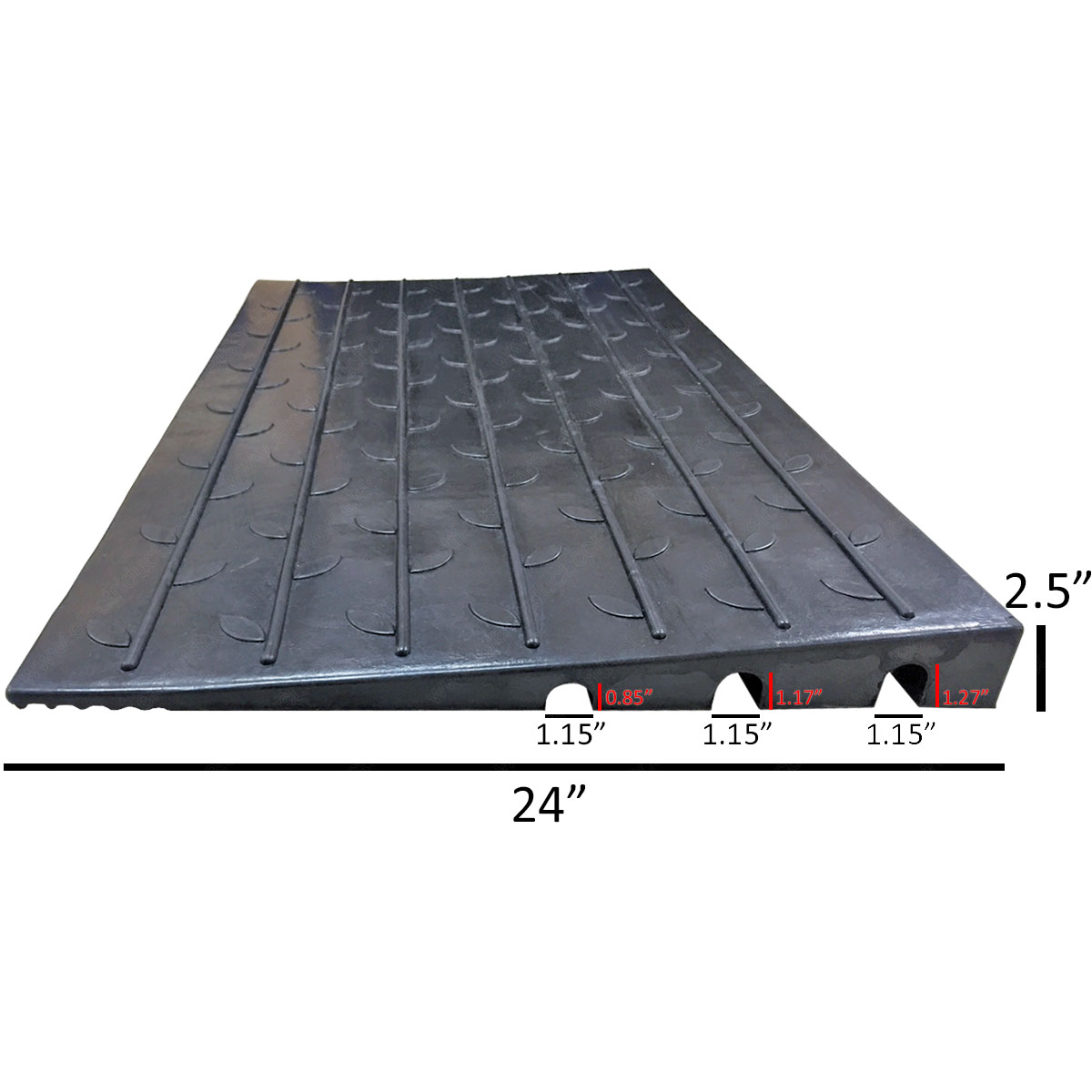 Rubber Threshold Ramps 2 5 Quot Rise