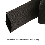 Shrinkflex 2:1 Fabric Heat Shrink Tubing