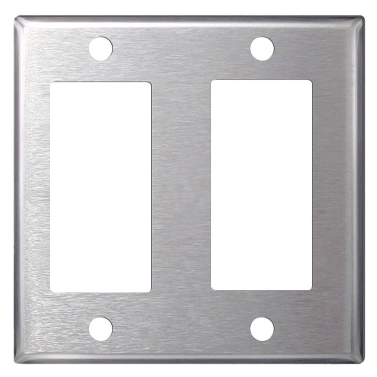 Blank Switch Plate Fascinating Stainless Steel Wall Plates  Single Double Gang  Blank Toggle Decorating Design