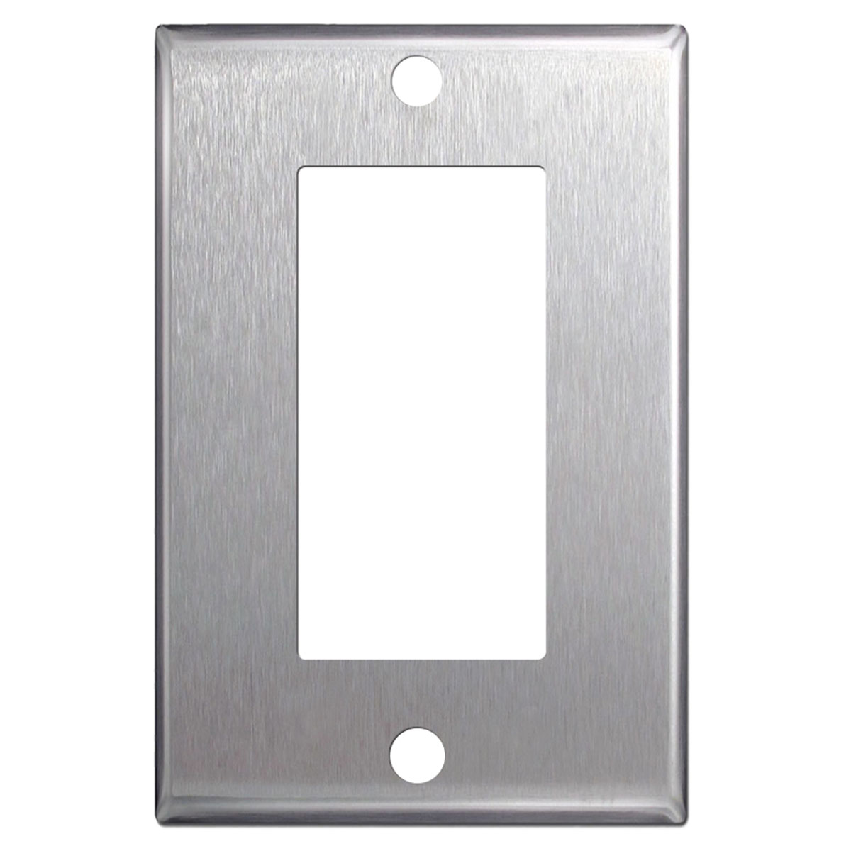 Rocker Switch Plate Custom Stainless Steel Wall Plates  Single Double Gang  Blank Toggle Inspiration