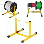 Adjustable Wire Reel Stand Dispenser