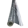 Aluminum Heat Reflective Fiberglass Side Entry Self-Closing Sleeving - Electriduct