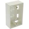 Electriduct Surface Mount Box for Wall Plates