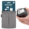 Pocket for Earphones & Charger Travel Pouch - UT Wire