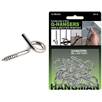 Stainless Steel Q-Hangers Outdoor Wire Holder - Hangman Products