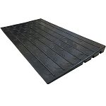 Rubber Threshold Ramp - Electriduct