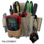 Genuine Leather Tool Belt Pouches & Accessories - Electriduct