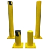 Steel Pipe Safety Bollard Posts - Electriduct