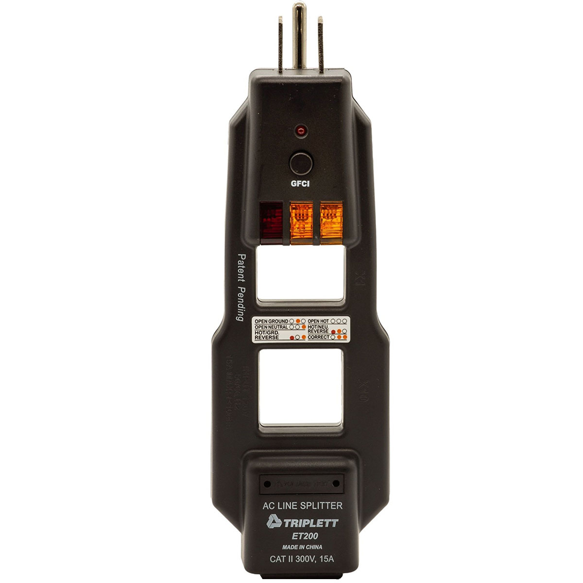 Ac Line Splitter And Gfci Outlet Receptacle Tester